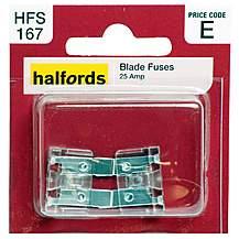 image of Halfords Blade Fuses 25 Amp