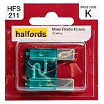 image of Halfords Maxiblade Fuse 30 Amp