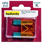 image of Halfords Maxiblade Fuse 40 Amp