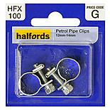 Halfords Petrol Hose Clips