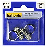 image of Halfords Petrol Hose Clips