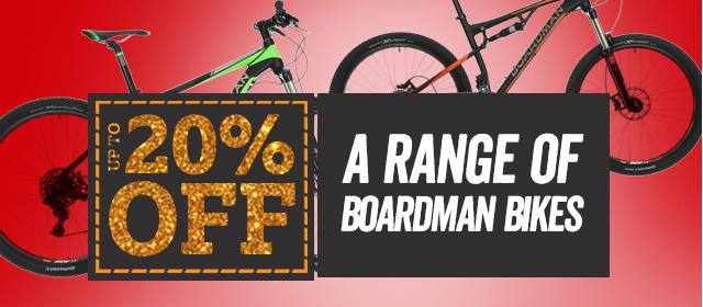 20% Off A Range of Boardman Bikes