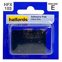image of Halfords Heavy Duty Adhesive Pad (HFX103)