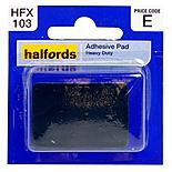 Halfords Heavy Duty Adhesive Pad (HFX103)