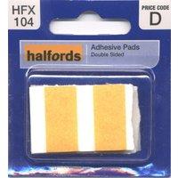 Halfords Adhesive Pads (HFX104)