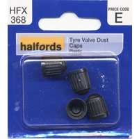 Halfords Tyre Valve Dust Caps (HFX368)