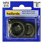 image of Halfords Aerial Grommets 19, 22 and 24mm