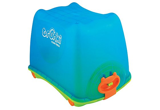 Trunki Travel Ride on Toy Box Blue