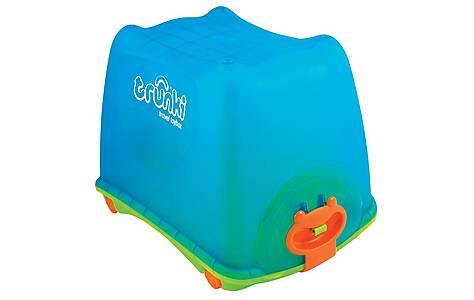 image of Trunki Travel Ride on Toy Box Blue