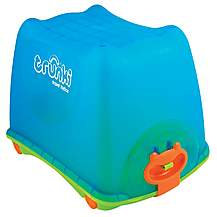 image of Trunki Travel Ride on Toy Box Blue