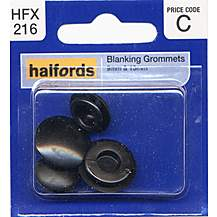 image of Halfords Blanking Grommets 9 & 13mm