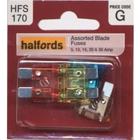 Halfords Assorted Blade Fuses (HFS170)