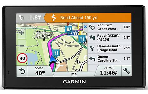 "image of Garmin DriveSmart 50LM 5"" Sat Nav with UK, Ireland & Western Europe Maps"
