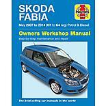 Haynes Skoda Fabia Petrol & Diesel (2007-2014) Manual