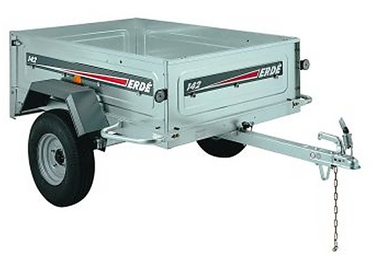 Erde 142 Car Trailer