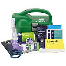 image of Halfords First Aid and Torch Kit
