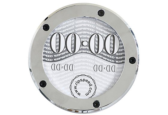 Ripspeed Alloy Chrome Tax Disc Holder