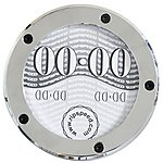 image of Ripspeed Alloy Chrome Tax Disc Holder