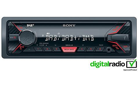 image of Sony DSX-A300DAB Digital Car Stereo