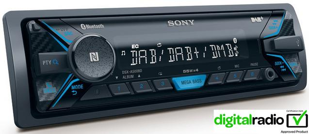 Sony DSX- A500BD Digital Car Stereo