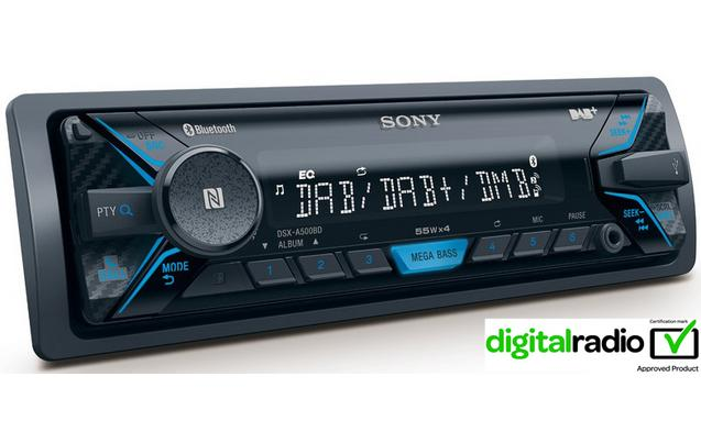 sony dsx a500bd digital car stereo pgh marketing. Black Bedroom Furniture Sets. Home Design Ideas