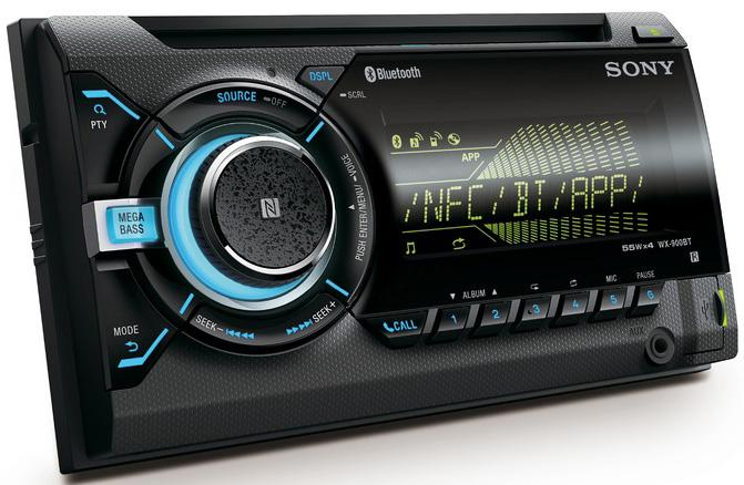 sony stereo. sony wx-900bt double din car stereo t