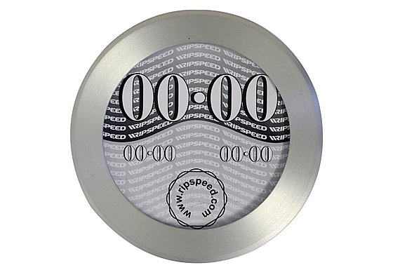 Ripspeed Brushed Aluminium Tax Disc Holder