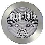 image of Ripspeed Brushed Aluminium Tax Disc Holder