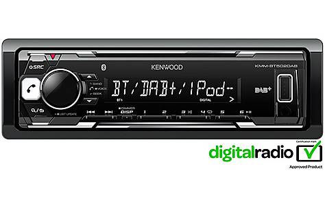 image of Kenwood BT502DAB Digital+ Car Stereo