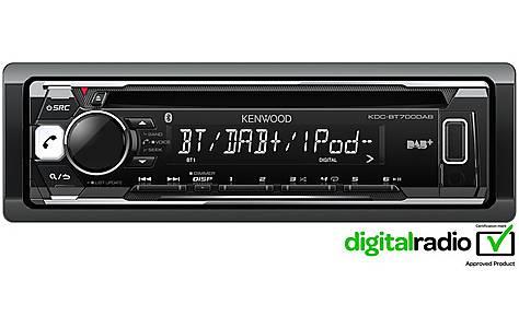 image of Kenwood KDC-BT700DAB Digital+ Car Stereo
