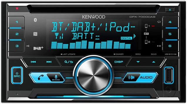 Kenwood DPX-7000DAB Digital+ Car Stereo