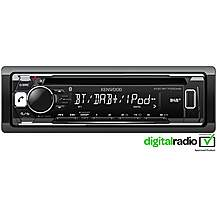 image of Ex Display Kenwood KDC-BT700DAB Digital+ Car Stereo