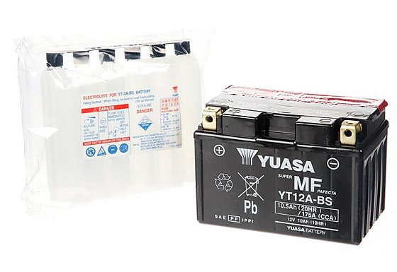 Yuasa YT12A-BS Powersport Motorcycle Battery