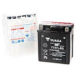 image of Yuasa YTX7L-BS Powersport Motorcycle Battery
