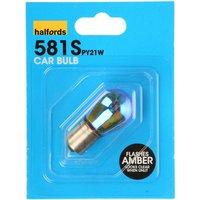 Halfords (HBUS581) Silver Single Car Bulb
