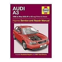 image of Haynes Audi A3 (96-03) Manual
