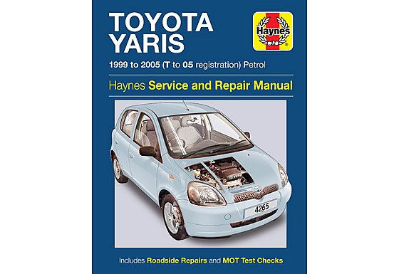 Haynes Toyota Yaris (99 - 05) Manual