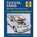 Haynes Toyota Yaris (99 - 05) Manual
