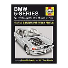 image of Haynes BMW 5 Series (96 - 00) Manual