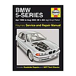 image of Haynes BMW 5 Series (96 - 00) Manual