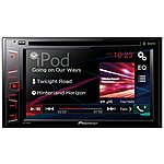 image of Pioneer AVH-280BT Double Din Bluetooth Car Stereo
