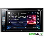 image of Pioneer AVH-X3800DAB Digital Double Din Car Stereo