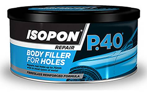 image of David's ISOPON P40 Glass Fibre Repair Paste 600ml