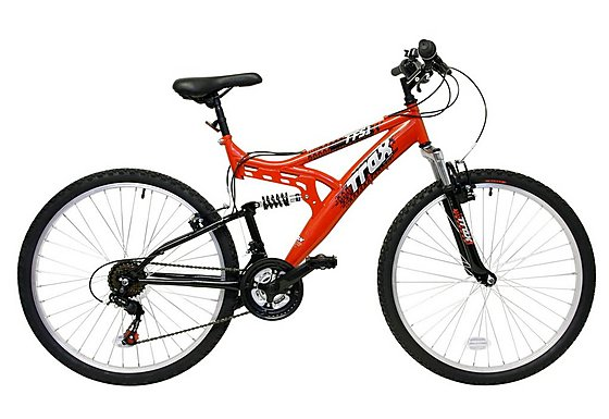 Trax TFS.1 Mens Full Suspension Mountain Bike - 18