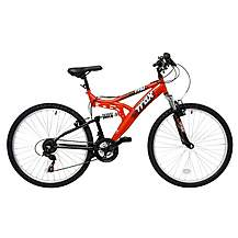 image of Trax TFS.1 Mens Full Suspension Mountain Bike - 18""