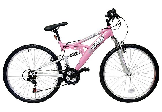 Trax TFS.1 Ladies Full Suspension Mountain Bike - 16