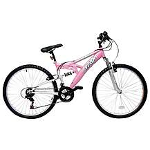 image of Trax TFS.1 Ladies Full Suspension Mountain Bike - 16""