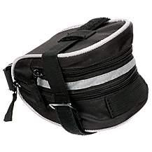 image of Halfords Medium Wedge Bag Black