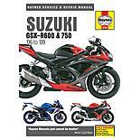 Haynes Manual - Suzuki GSX R600 & GSX R750