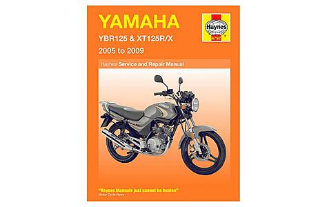 image of Haynes Manual - Yamaha YBR125 & XT125RX